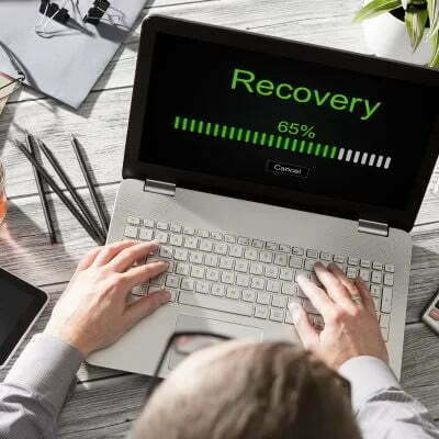 How to recover data
